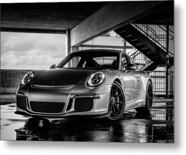 Porsche 911 Gt3 Metal Print