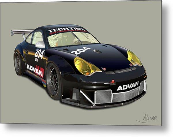 Porsche 996 Gt3 Rsr Metal Print