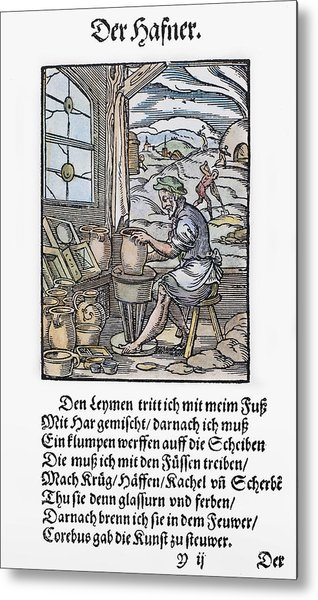 Potter, 1568 Metal Print