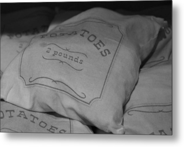 2 Pounds Of Potatoes Metal Print