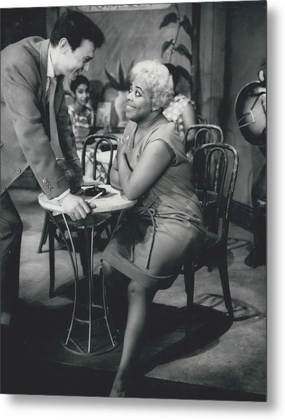 Rehearsing New Negro Musical Comedy Metal Print by Retro Images Archive