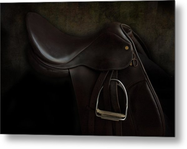 Saddle 2 Metal Print