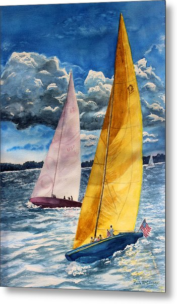 Sailors Delight  Metal Print by Enola McClincey
