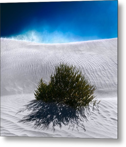 Metal Print featuring the photograph Sand Storm by Julian Cook