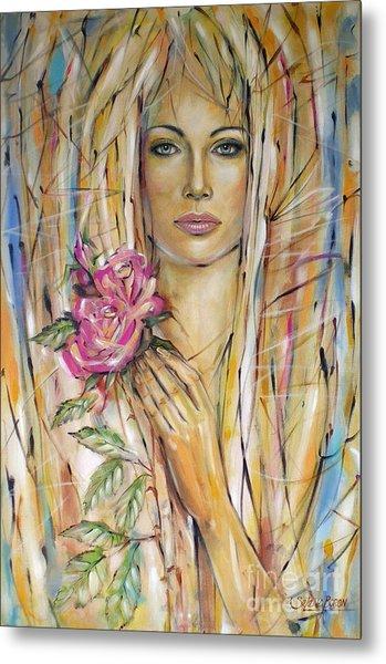 Silence Of Roses 020209 Metal Print