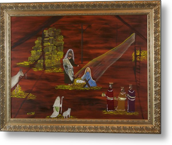 Silent Night Metal Print by Margaret Pappas