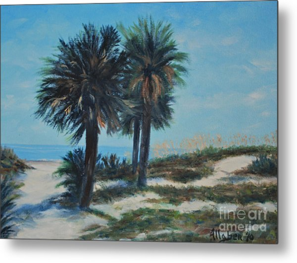 Singleton Beach Metal Print