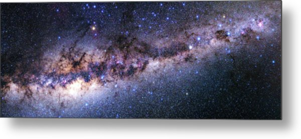 Southern View Of The Milky Way Metal Print