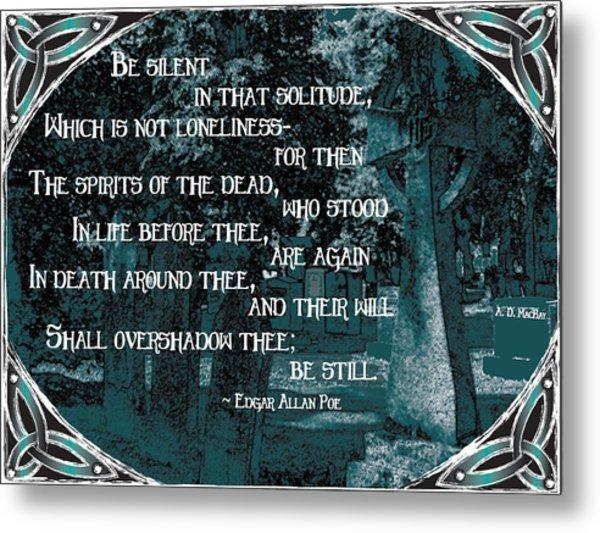 Spirits Of The Dead Metal Print