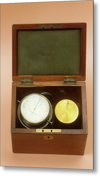 Spirometer Metal Print by Science Photo Library