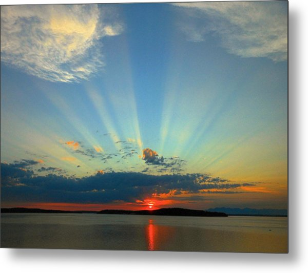 Splendor In The Sky Metal Print