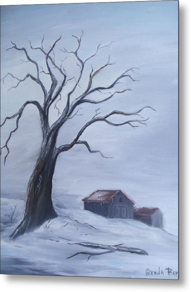 Standing Alone Metal Print by Glenda Barrett