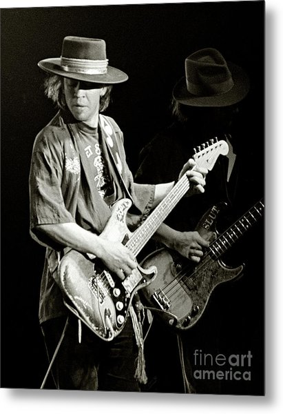Stevie Ray Vaughan 1984 Metal Print