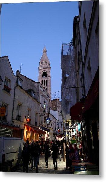 Street Scenes - Paris France - 01131 Metal Print by DC Photographer