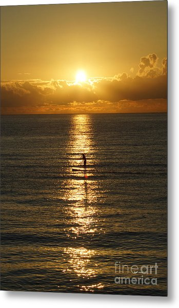 Sunrise In Florida Riviera Metal Print