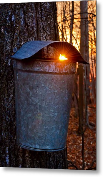 Sunrise In Vermont Metal Print