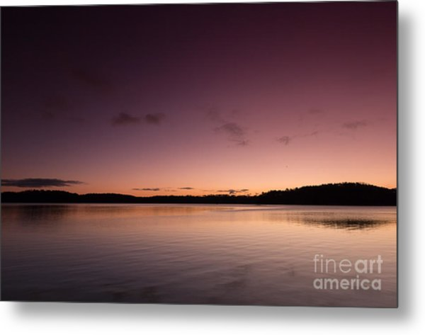 Sunrise On Lake Lanier Metal Print