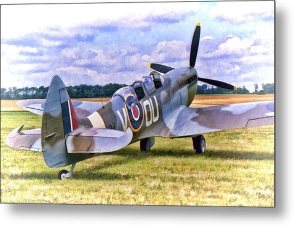 Supermarine Spitfire T9 Metal Print
