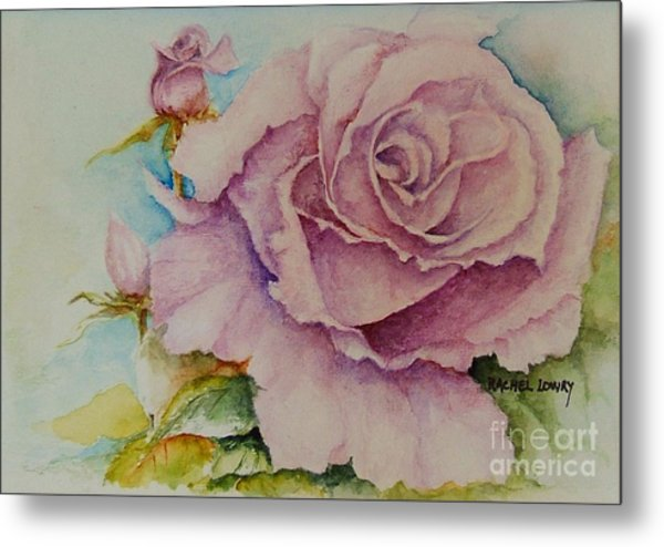 Susan's Rose Metal Print