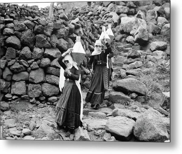 Syria Druze Women, 1938 Metal Print by Granger