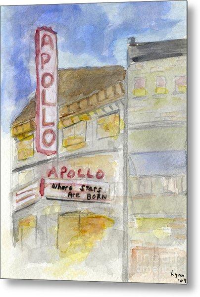 The Apollo Theatre Metal Print