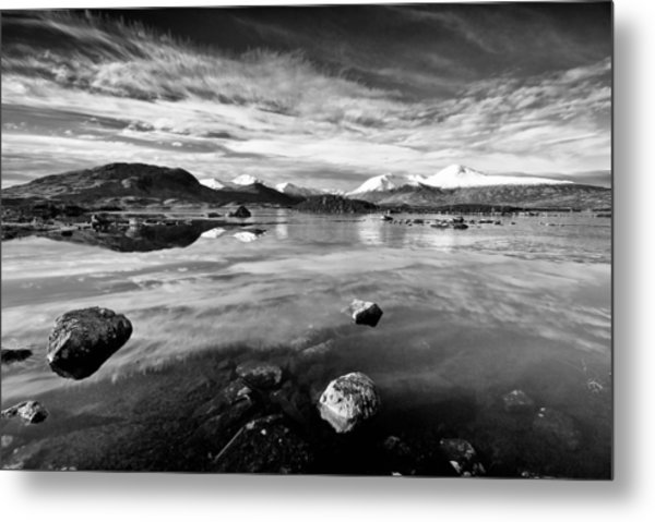 The Black Mount Metal Print
