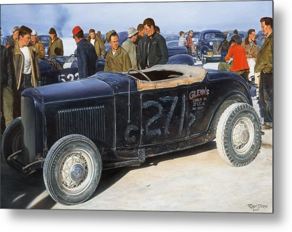 The Frank English Roadster Metal Print