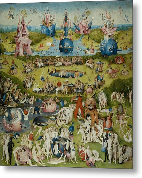 The Garden Of Earthly Delights Metal Print
