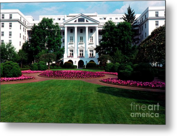 The Greenbrier Metal Print