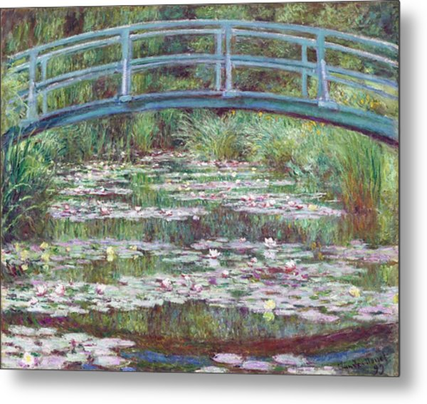 The Japanese Footbridge Metal Print