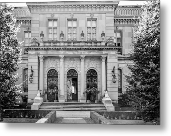 The Rosecliff Metal Print