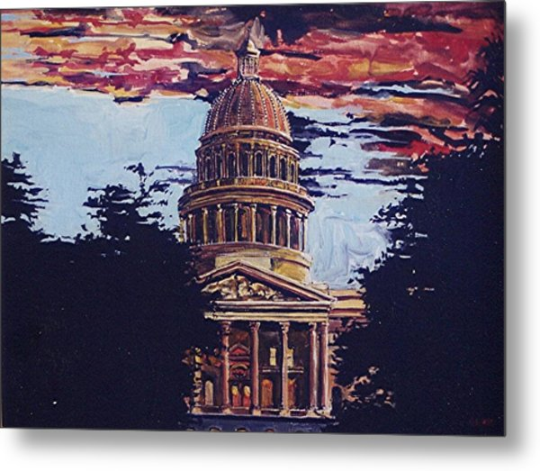 The State Capitol Metal Print by Paul Guyer