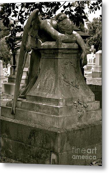 The Weeping Angel Metal Print