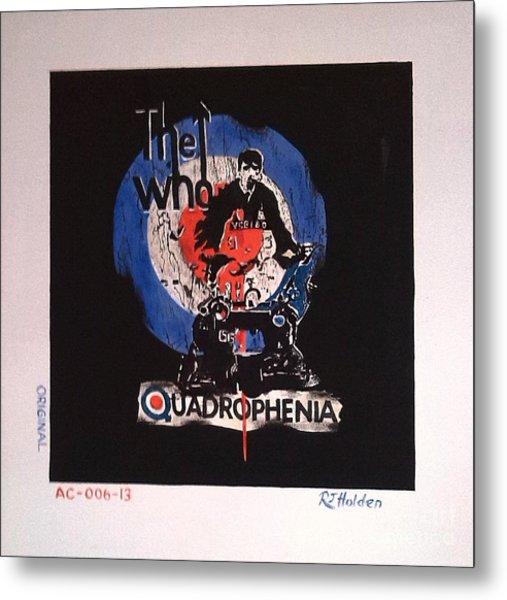 The Who - Quadrophenia Metal Print by Richard John Holden RA