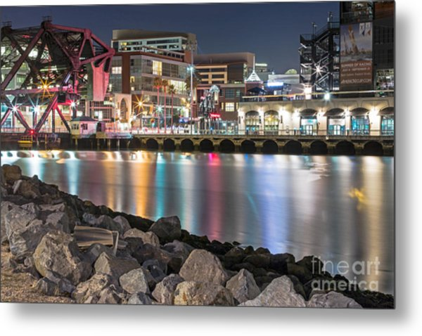 Metal Print featuring the photograph Third Street Bridge by Kate Brown