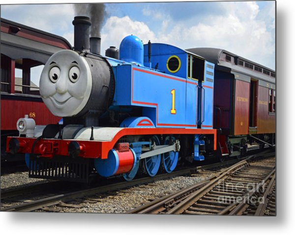 Thomas The Engine Metal Print