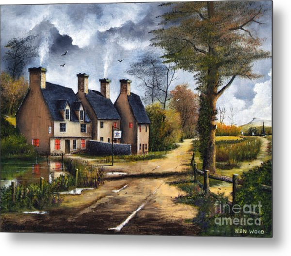 Travellers Rest Metal Print