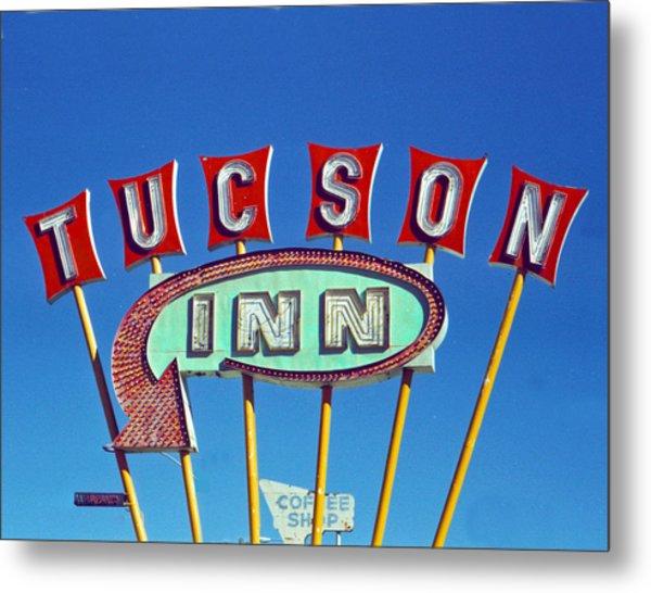 Tucson Inn Metal Print