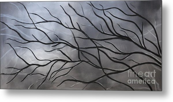 Twilight Tree Metal Print