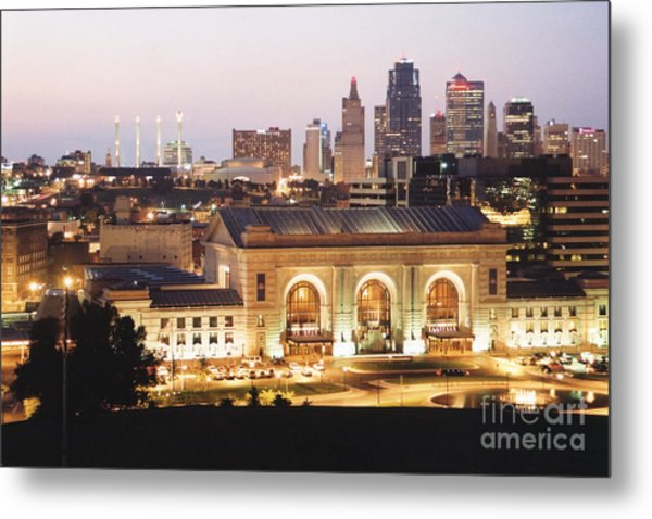 Union Station Evening Metal Print