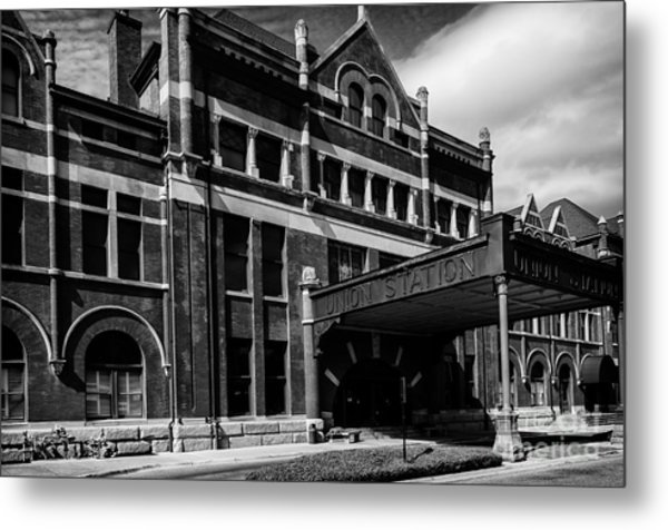 Union Station In Montgomery Alabama Metal Print