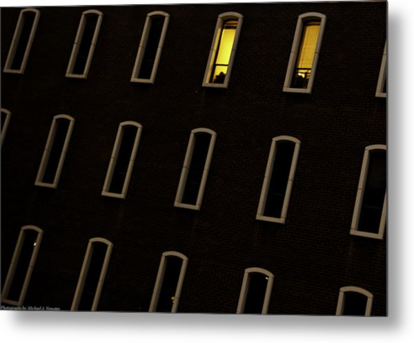 Urban Abstract 3 Metal Print