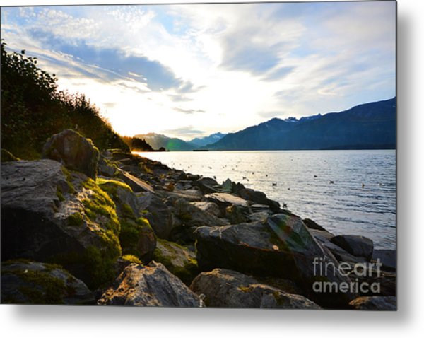Metal Print featuring the photograph Valdez by Kate Avery