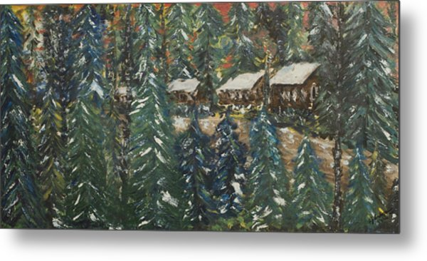 Winter Has Come To Door County. Metal Print