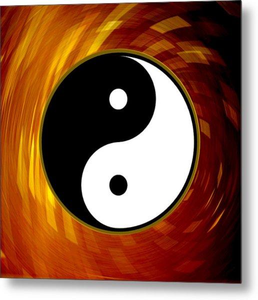 Yin And Yang Metal Print by Daryl Macintyre