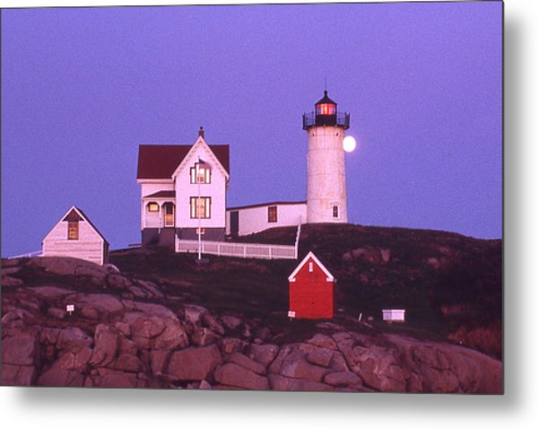 Cape Neddick Light Metal Print by Herbert Gatewood