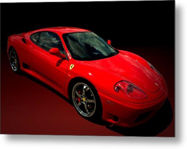 Metal Print featuring the photograph 2004 Ferrari 360 Modena by Tim McCullough