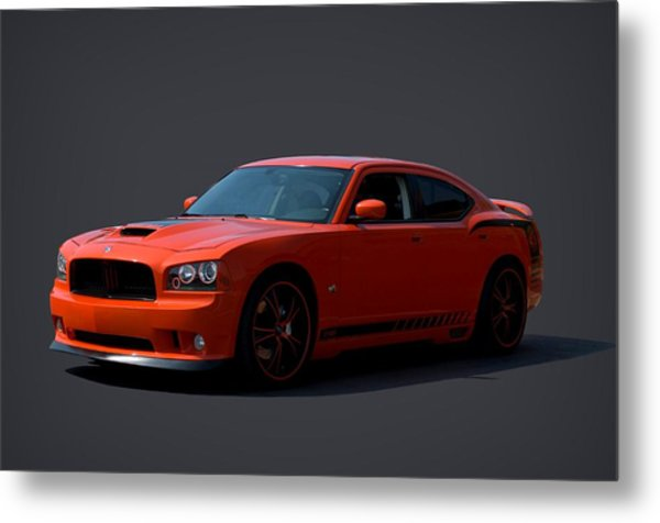 2009 Dodge Srt8 Super Bee Metal Print by Tim McCullough