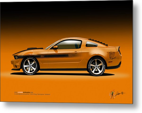 2011 Ford Twister Mustang Metal Print