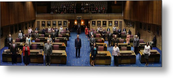 2013 Arizona Senate Portrait Metal Print